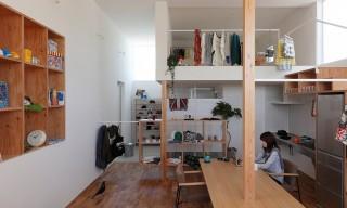 """Higashihayashiguchi"" Combines Cafe & Home in One – Shiga, Japan"