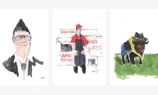 Richard Haines' Illustrated Road Trip Across America for JACK SPADE and CFDA