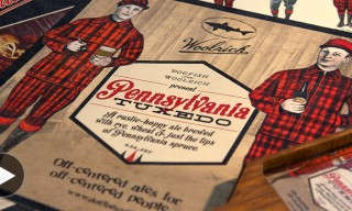"Dogfish Head for Woolrich ""Pennsylvania Tuxedo"" Beer and Clothing Capsule"