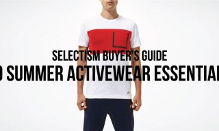 Selectism Buyer's Guide | 10 Summer Activewear Essentials