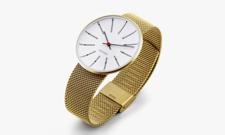 "Arne Jacobsen by Rosendahl – A Modernist Gold ""Bankers"" Watch"