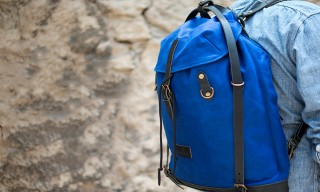 Bleu de Chauffe Introduce Klein Blue Travel Bags for Summer