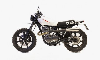 All Conditions – The Deus Ex Machina Lightning 400 Custom Motorcycle