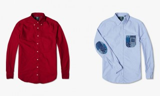 Smart Shirting by Gitman Vintage & End Clothing for Fall/Winter 2014