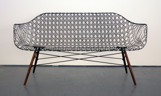 "A Carbon Fiber ""Eames Sofa"" by Matthew Strong"