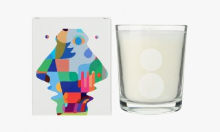 "Artist Hiro Sugiyama Designs ""Divin Mimosa"" Candle for Colette"