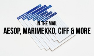 In The Mail | Aesop, Marimekko, CIFF and More