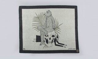 Richard Colman Designs 2 Macabre Blankets for Indigofera
