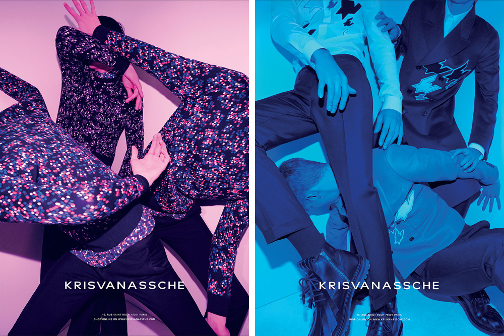 A Colorful KRISVANASSCHE Campaign for Fall/Winter 2014