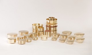 Stunning Brass Pieces by Korean Artisan Kim Soo-Young and Designer Gio Kisang