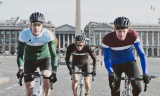 Le Coq Sportif Cycling Collection Hits Paris for Fall 2014