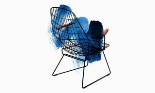 Tenue de Nimes for Pastoe Exclusive Denim Lounge Chair