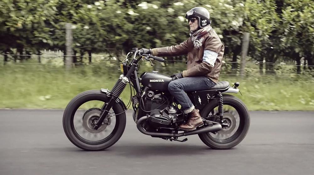 Ralph Lauren RRL & Blitz Motorcycles Ride Paris