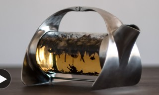 The Sculpturesque Sorapot Teapot by Joey Roth