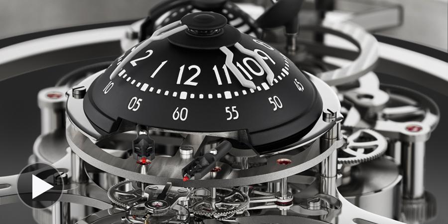 MB&F Starfleet Machine Table Clock by for L'Epée 1839