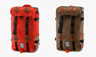 A Horween Leather & Cordura Klettersack by Topo for Howler – 2 Colors