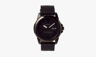 Limited Edition White Mountaineering & Seiko Black Watch for Fall 2014