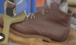 Watch the Making of a Wolverine 1000 Mile Centennial Boot