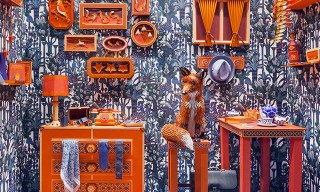 See the Zim & Zou Fox's Den Window for Hermès Barcelona
