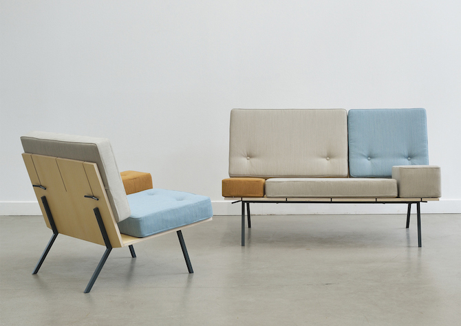 A Customizable Bench by Germany's aust&amelung 2014