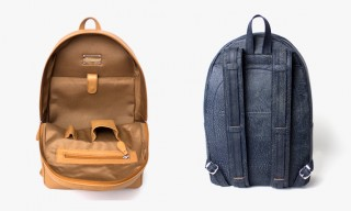 """The Jake"" Leather Backpack by Illesteva – Handcrafted in Germany"