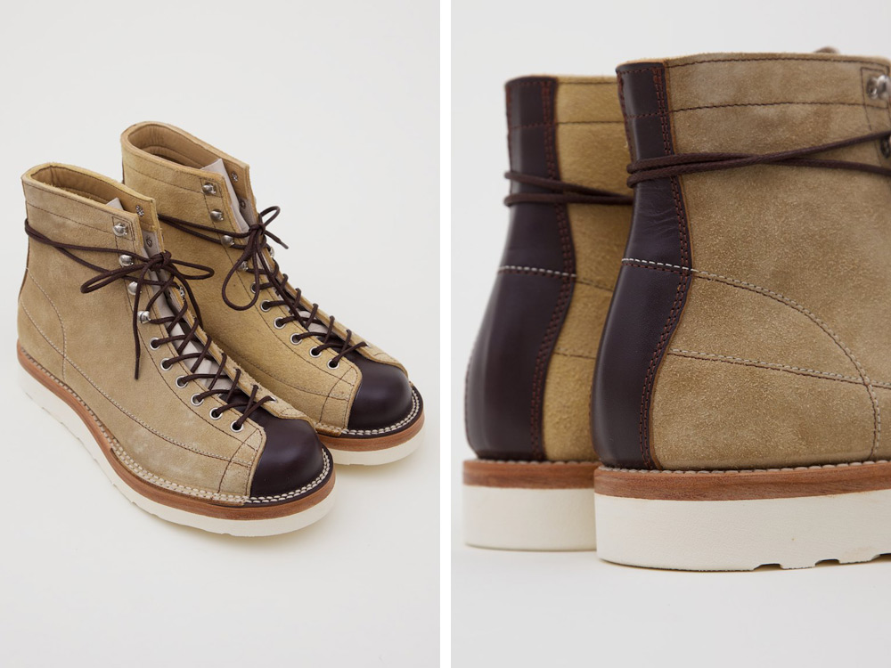 Joe McCoy Ten Mile Suede Monkey Boot