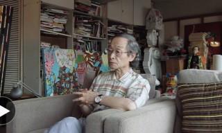 Keiichi Tanaami Hand-Paints a Vintage Honda NX650 Motorbike