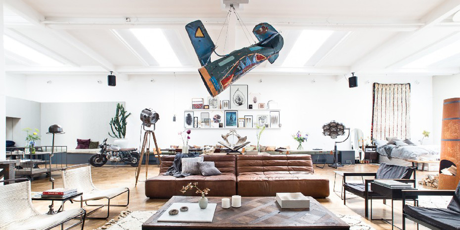 The loft pop up shop amsterdam selectism for Design consultancy amsterdam