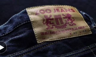 "Zoo Jeans – Denim ""Designed"" by Japanese Zoo Animals"