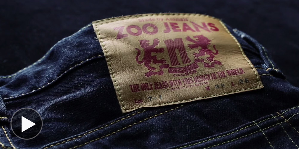 "Zoo Jeans - Denim ""Designed"" by Japanese Zoo Animals 2014"
