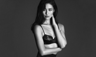Liu Wen and Mariacarla Boscono for La Perla Fall/Winter 2014