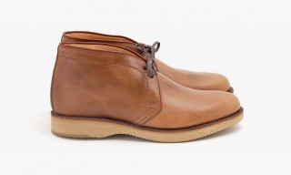 A Beautiful Natural Leather Chukka from Alden & Leffot