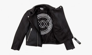COMMON Limited Edition Leather Biker Jacket for Storm Copenhagen