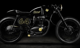 Swedish-Designed Cafe Racer Motorbikes from Belstaff