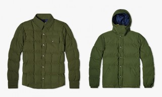 Go Green – 3 Classic Outerwear Options from Crescent Down Works