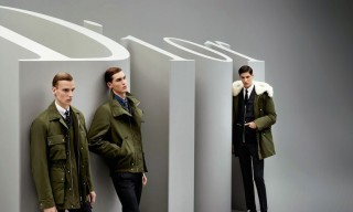 The Dior Homme Fall/Winter 2014 Campaign Shot by Karl Lagerfeld
