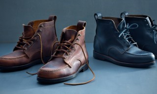 "Hand-Stitched Boots from ""Made in Maine"" by Eastland Fall/Winter 2014"