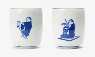Traditional Japanese Kutani Choemon Pottery Goes Modern