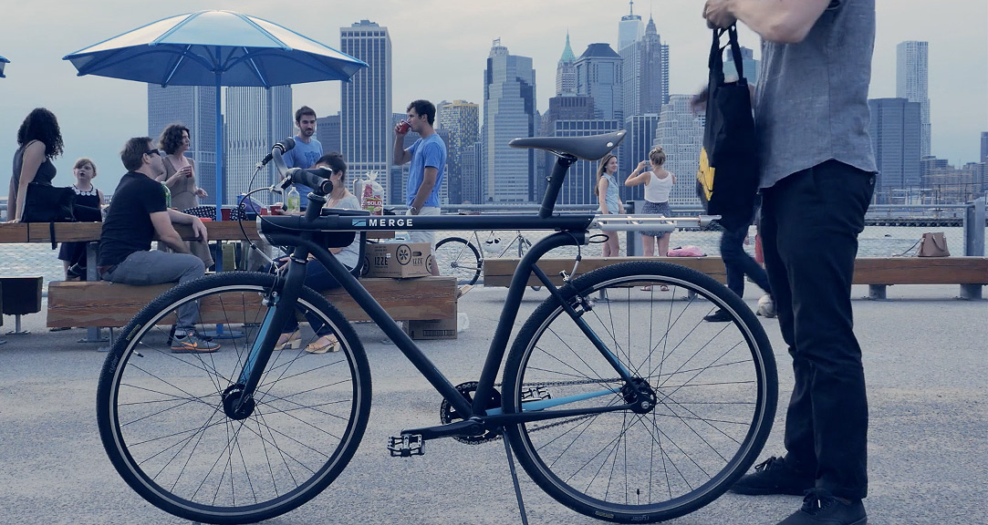 Pensa & Horse Cycles Design Their Ultimate Urban Bike, the Merge