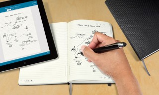 Moleskine Livescribe Notebooks Record Strokes Digitally