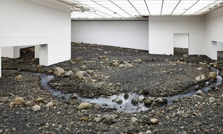 "Olafur Eliasson Installs ""Riverbed"" at the Louisiana Museum of Modern Art"