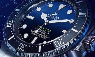The Rolex Deepsea D-Blue Dial Watch Celebrates James Cameron's Solo Dive