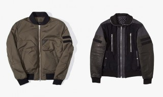 Two Takes on the Classic Bomber Jacket from Tim Coppens