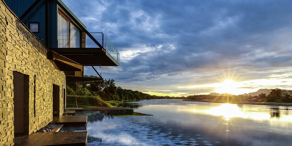 The Resort on The River Kwai - The X2 with Stunning Views