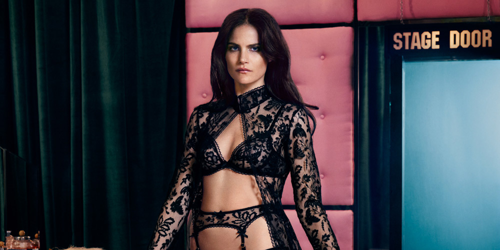 f08379926e Missy Rayder for Agent Provocateur Fall Winter 2014 • Selectism