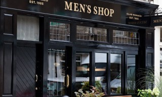 Club Monaco Opens First Men's Shop in Shoreditch, London