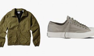 More Apparel and a New Sneaker from Converse Jack Purcell Fall/Winter 2014