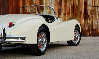 The Vintage 1957 Jaguar XK140 MC Roadster is Up for Sale