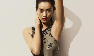 Liu Wen and Mariacarla Boscono for La Perla Fall/Winter 2014 Swimwear