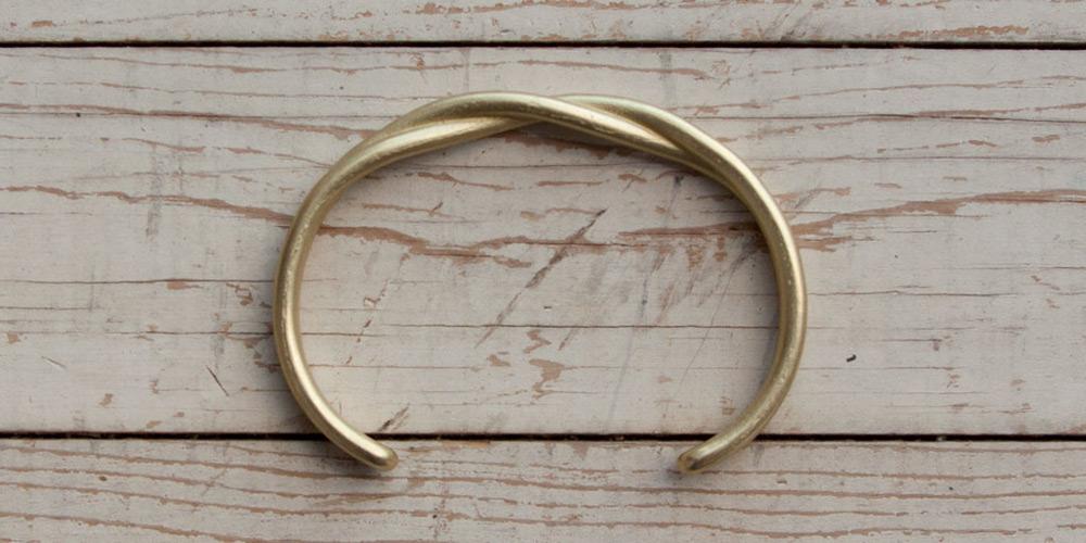 M&U Co. Twisted Solid Brass Cuffs 2014